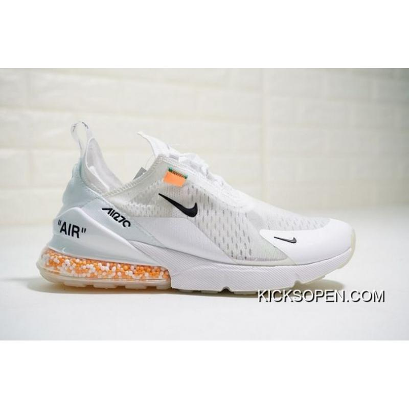 Ambos pulgada meditación  Online Women OFF-WHITE X Nike Air Max 270 Cushion SKU:153018-293, Price:  $89.80 - Sneakers, Shoes Outlet