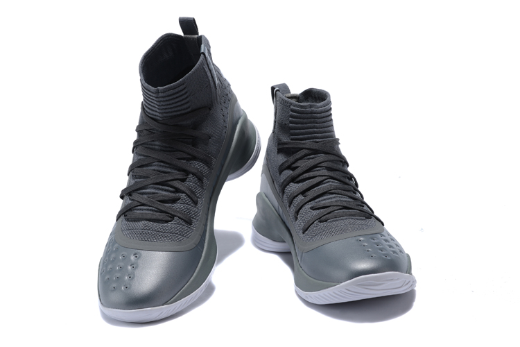 "111dce4939fb New Release Under Armour Curry 4 ""More Buckets"" Grey Wolf Grey-White ..."