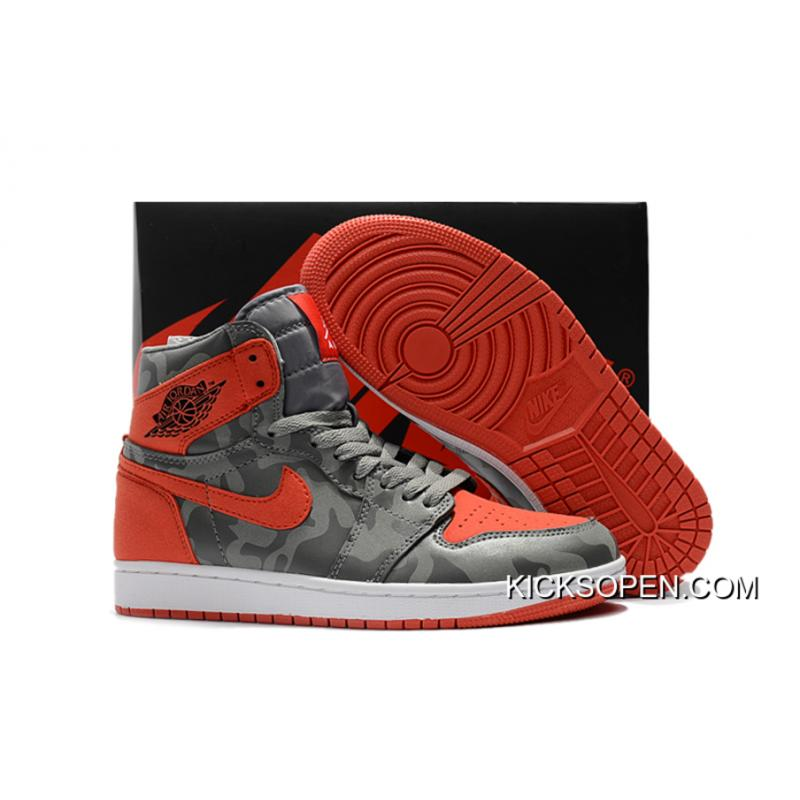 "39fa21f2bf4 Air Jordan 1 High Premium ""Camo"" River Rock/Black Super Deals, Price ..."
