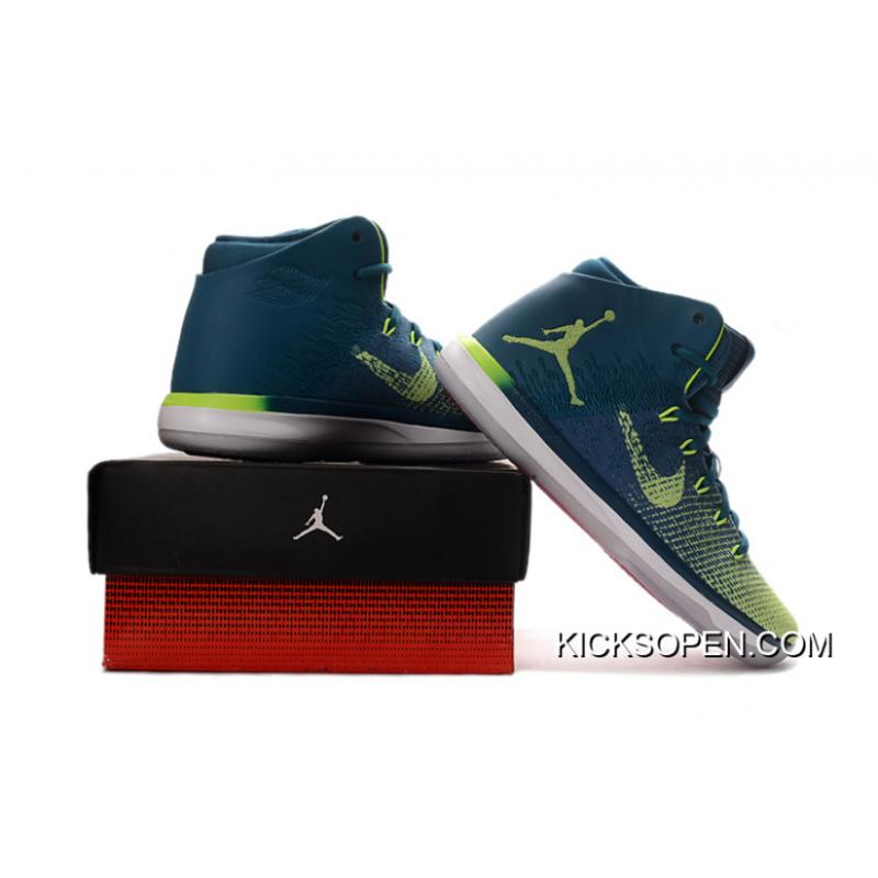 "... Free Shipping Air Jordan XXX1 Brazil ""Rio"" Green Abyss Ghost Green-White c93a4dd10c"