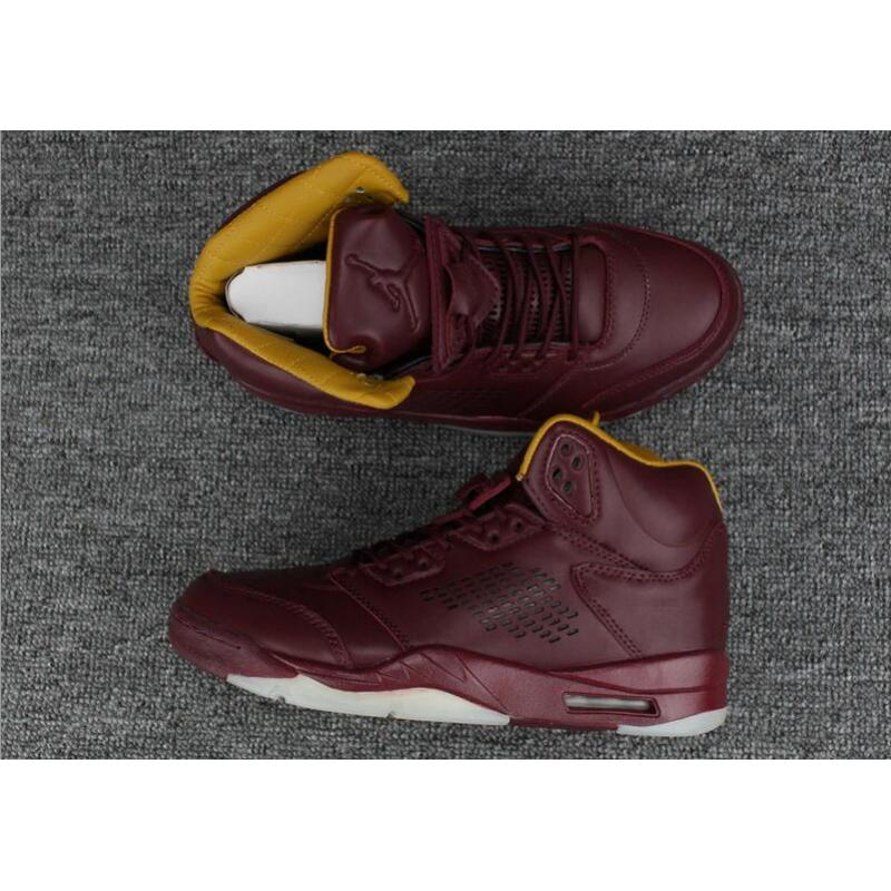 "online retailer 4f727 4e13c Top Deals Air Jordan 5 Premium ""Wine"" Bordeaux ..."