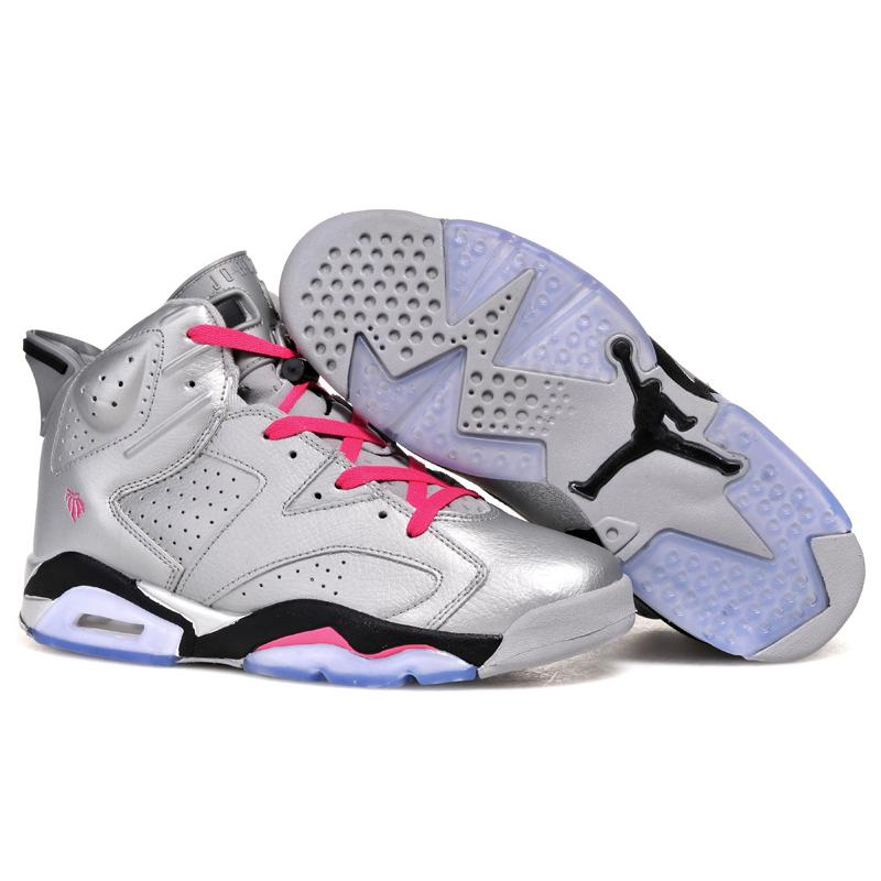 "9ac25496e9c New Style New Air Jordan 6 Retro ""Valentines Day"" Metallic Silver/Vivid Pink  ..."