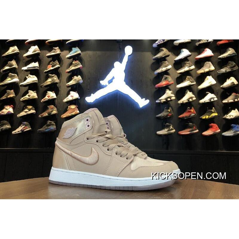 "Air Jordan 1 GS ""Summer Of High"" SOH Silt RedWhite-Metallic ..."
