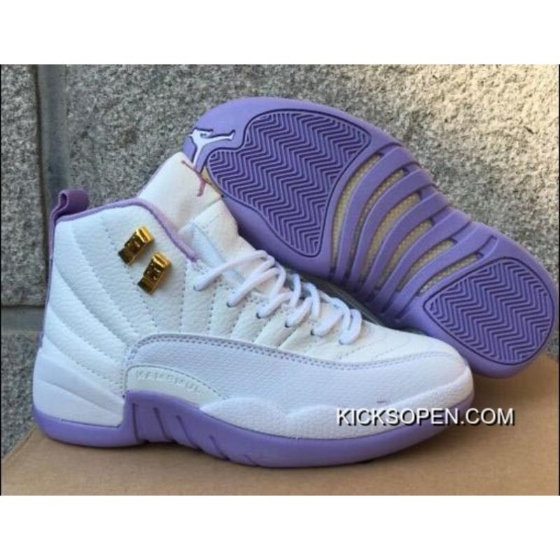 "6bf1ef8f56e Air Jordan 12 GS ""Dark Purple Dust"" Discount, Price: $87.76 ..."