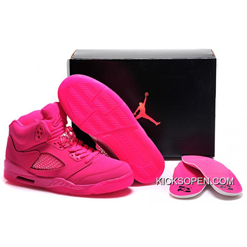 6ed4f83972524b ... official store new air jordan 5 gs all pink shoes for sale 4edb7 a71f1