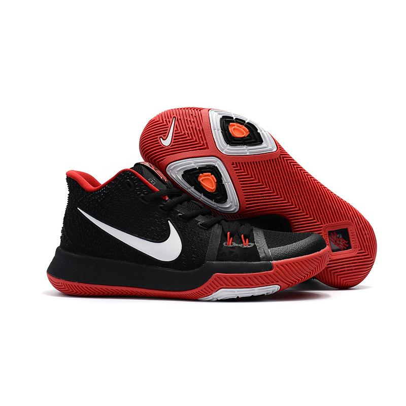 131aab13016b Girls Nike Kyrie 3 Black Red White Top Deals ...