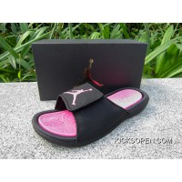 63b6e708c48 Free Shipping Air Jordan Hydro 6 Sandals Black Pink