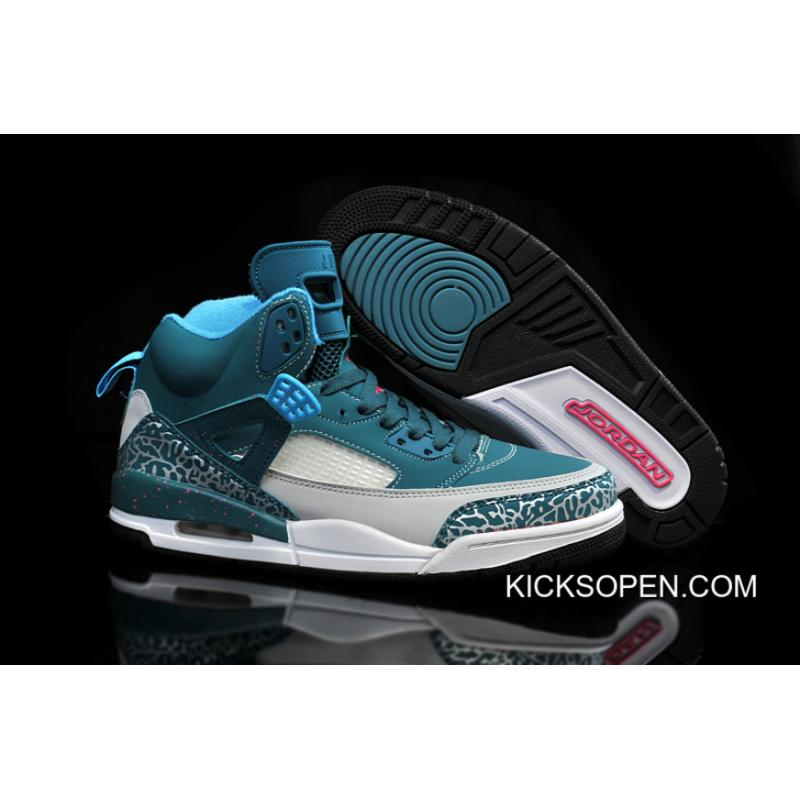 604507cfe44739 Outlet New Jordan Spizike Space Blue Wolf Grey-Tropical Teal-Fusion Pink ...