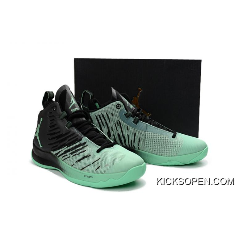 """9f1511a4cc4 New Style New Jordan Super.Fly 5 """"Green Glow"""", Price: $87.29 ..."""
