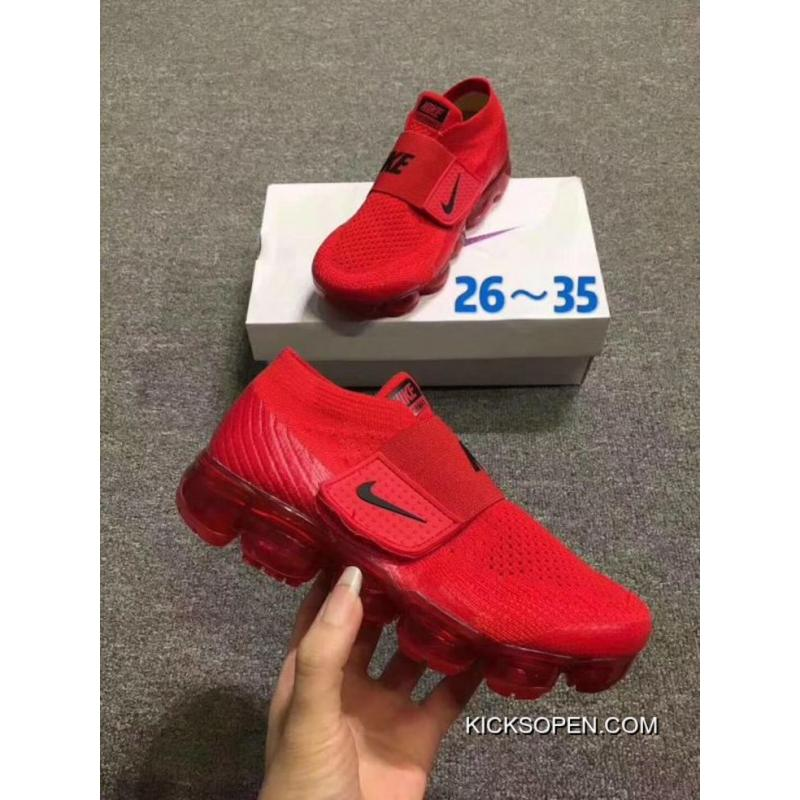 101ffb7eb2122c Kids Nike Air VaporMax 2018 Flyknit Running Shoe SKU 70859-233 ...