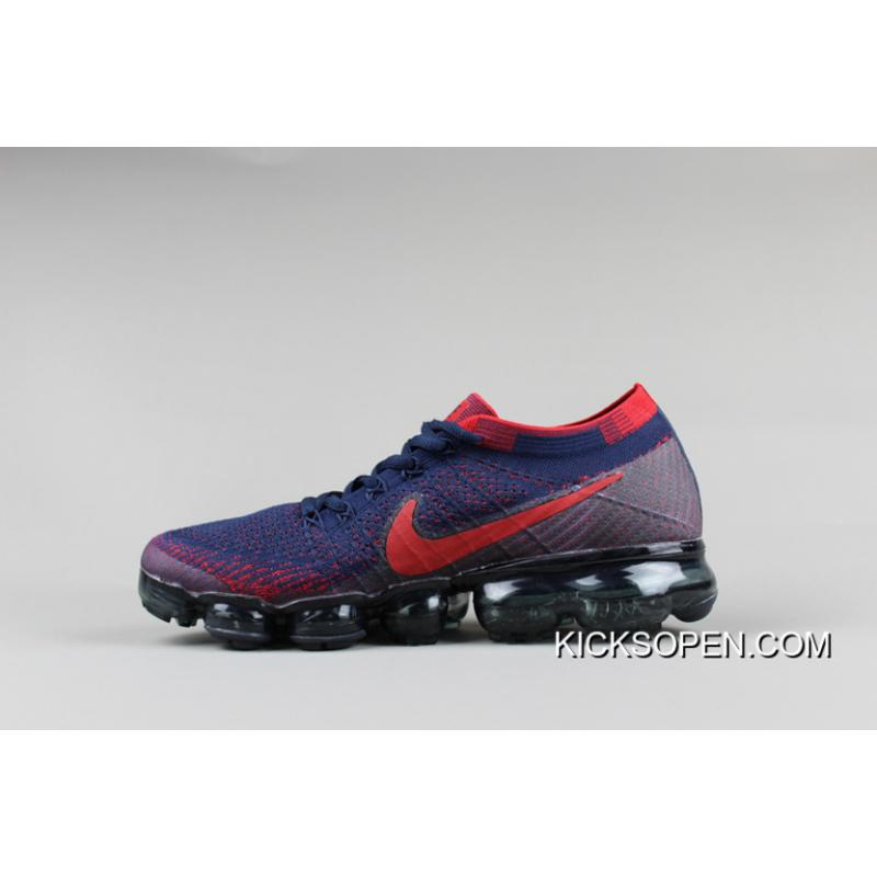 46a4f2e4e2b0 Men Nike Air VaporMax 2018 Flyknit Running Shoes SKU 192834-256 Outlet ...
