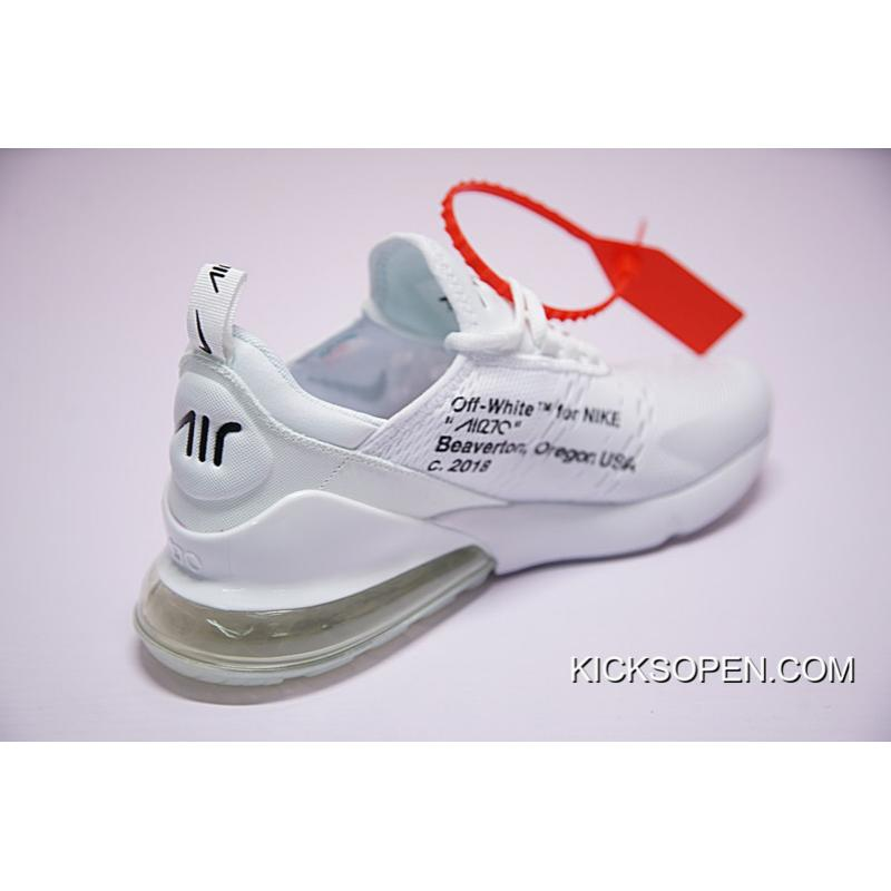 """c60d0495aac9 ... New Year Deals Off-White X Nike Air Max 270 """"White"""" ..."""