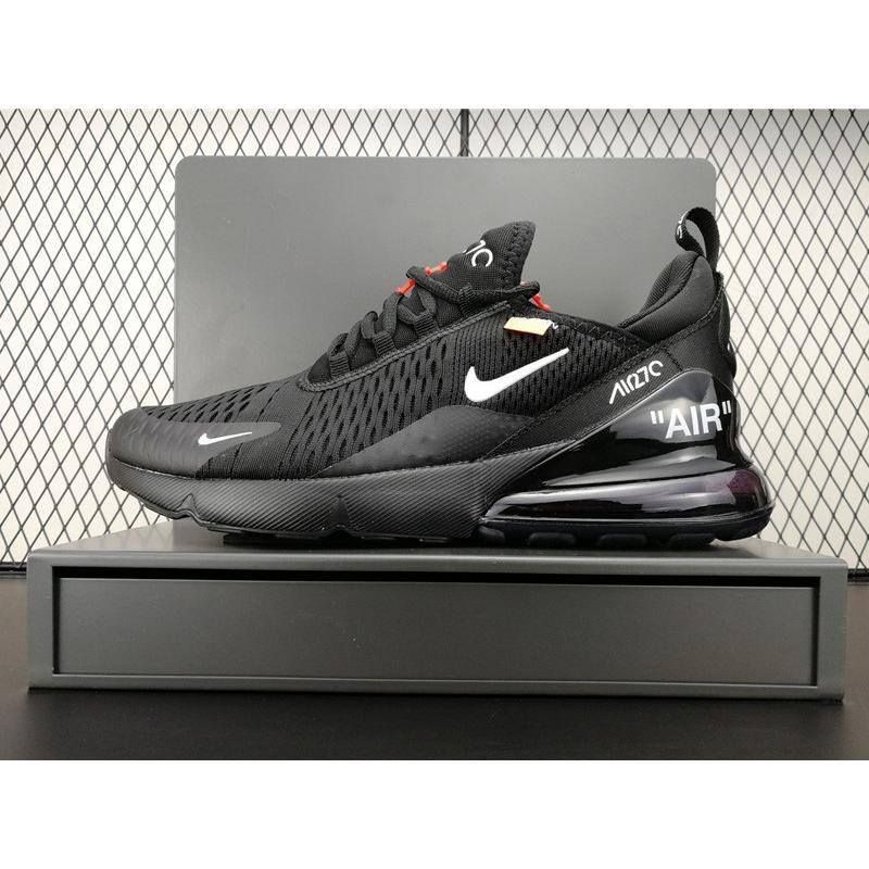 "214ba52f1ce4c7 Off-White X Nike Air Max 270 ""Black"" Online ..."