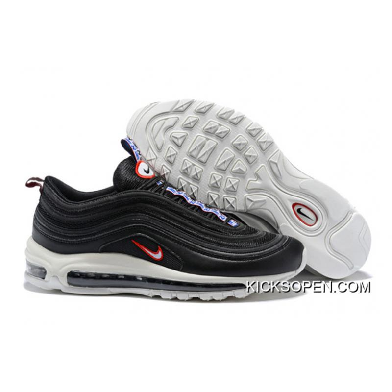 "6f269df1332 Super Deals Nike Air Max 97 ""Pull Tab"" Black White-Gym Red ..."