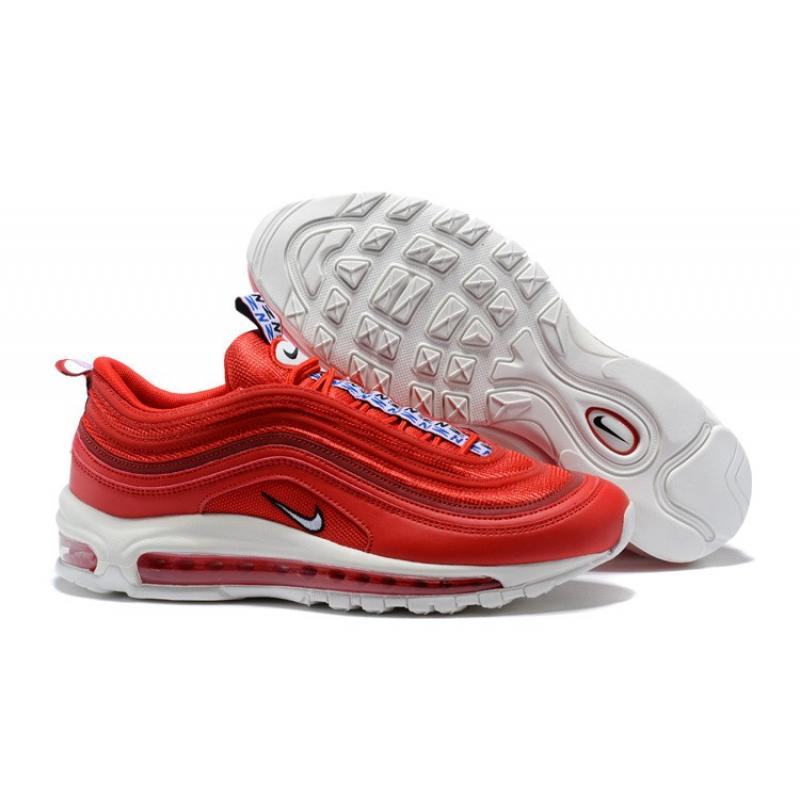 Online Nike Air Max 97 Pull Tab Gym Red White Gym Blue Price