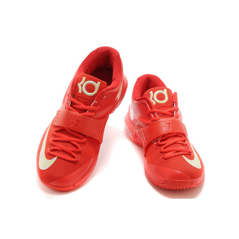 """ce51972811 ... Nike Kevin Durant KD 7 VII """"Global Game"""" Action Red/Metallic Silver  Best ..."""