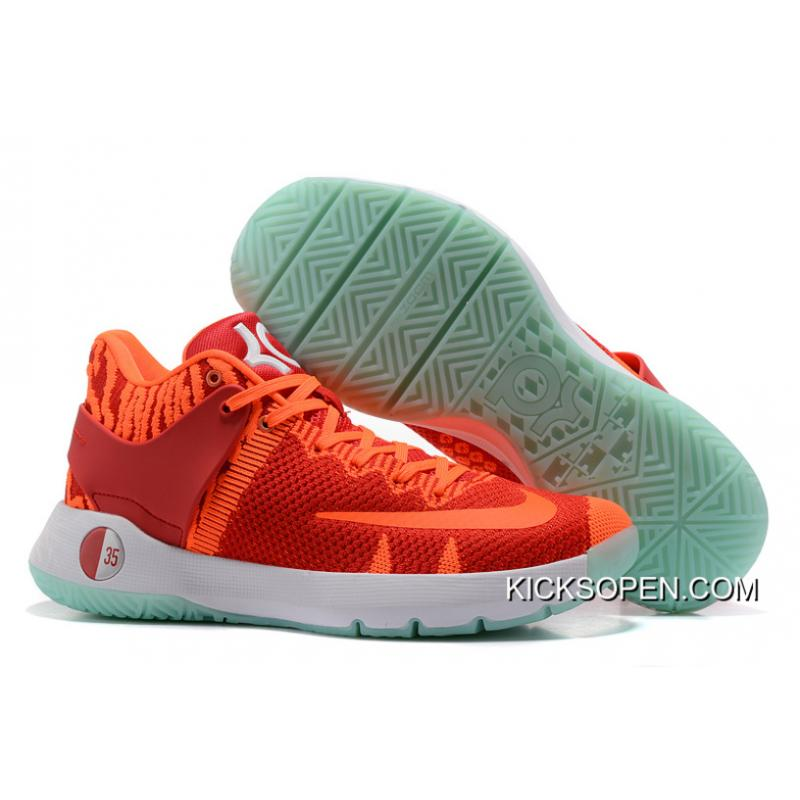 9a3ccda88be6 For Sale Nike KD Trey 5 Knit Red Orange White ...