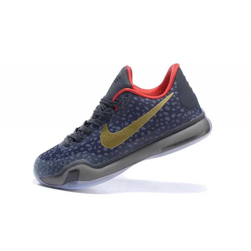 "separation shoes c4471 a7296 ... Kobe 10 Safari Print ""Charcoal Gold Red"" New Year Deals ..."