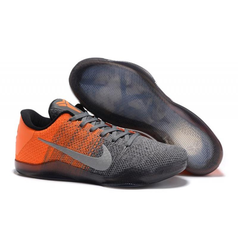 "f852e06b382f Latest Nike Kobe 11 Elite Low ""Easter"" Grey Orange ..."