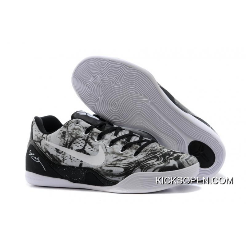 cheaper c83ac 8d8c9 Nike Kobe 9 Low EM XDR White Black Best ...