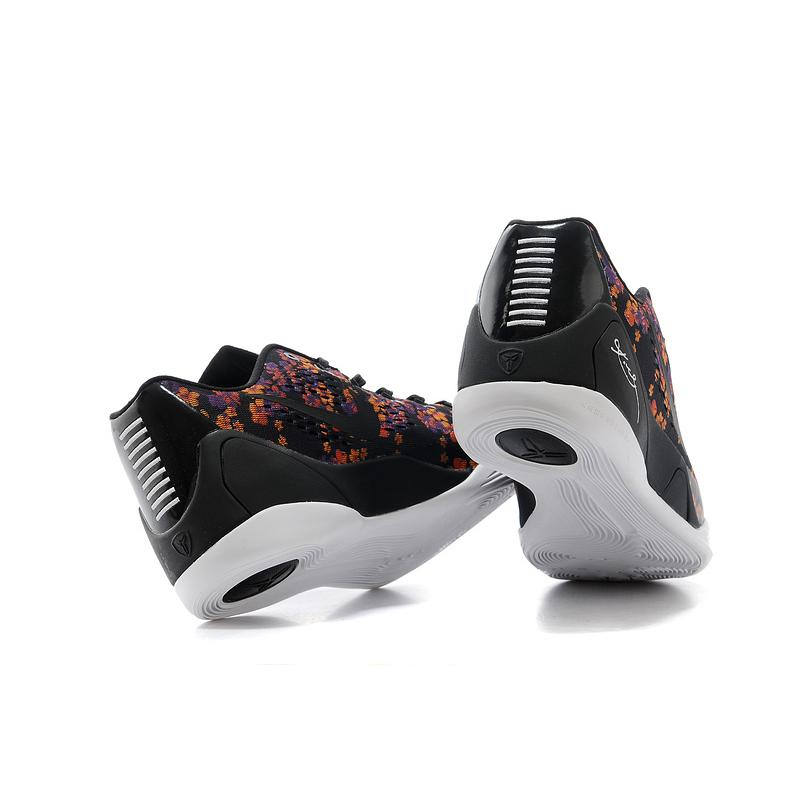 "best sneakers 0756f 296b4 ... Outlet Nike Kobe 9 EM ""Floral"" Black-Court Purple Tour Yellow"