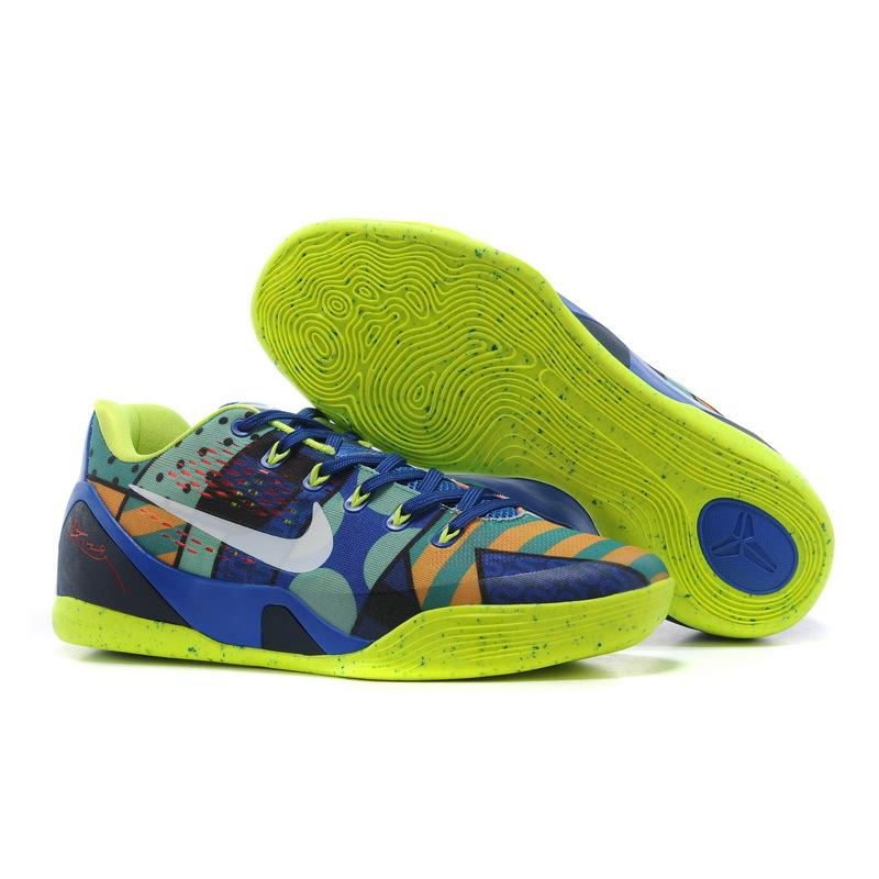 "lowest price fecfa 51ee8 New Release Nike Kobe 9 EM ""Brazil"" Game Royal/White-Venom Green ..."