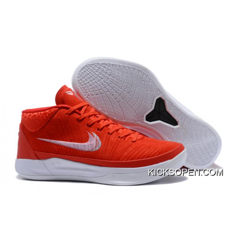 new style d1cec 1ac46 Nike Kobe A.D. Mid Red White Copuon, Price: $88.46 - Sneakers, Shoes ...