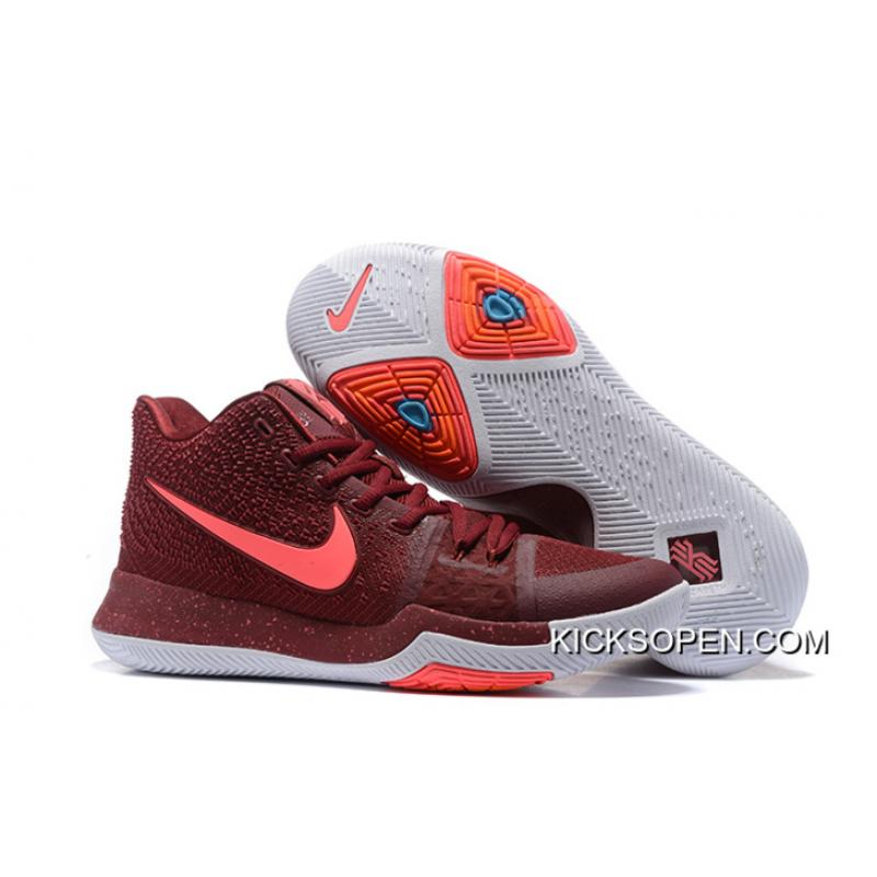 cad52db098d7 Men Nike Kyrie 3 Basketball Shoes SKU 110744-270 New Year Deals ...