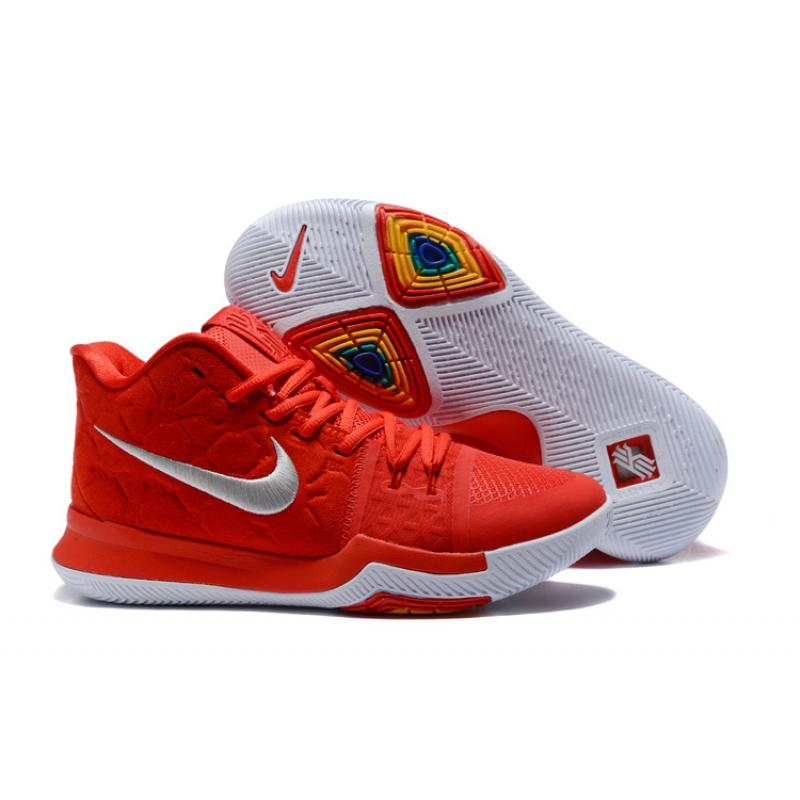 "e5afca7ee92e Outlet Nike Kyrie 3 ""University Red Sued"" ..."