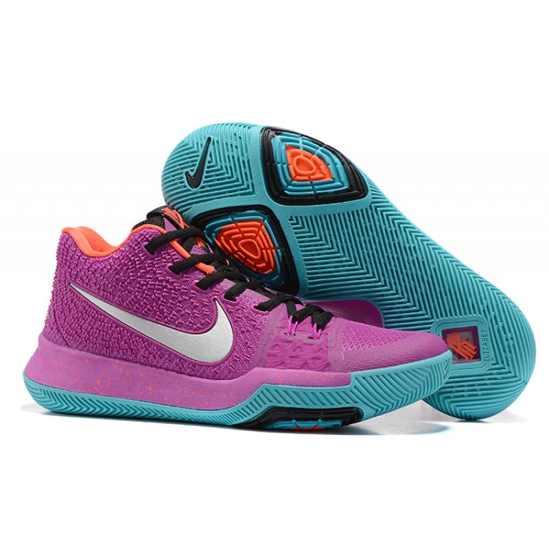 "info for 98d12 d7440 New Year Deals Nike Kyrie 3 ""Easter"" Purple Green Orange Black"