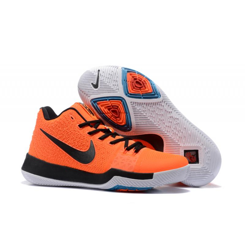 999c9b23bf32 Nike Kyrie 3 EP Orange Black White Shoes New Style ...