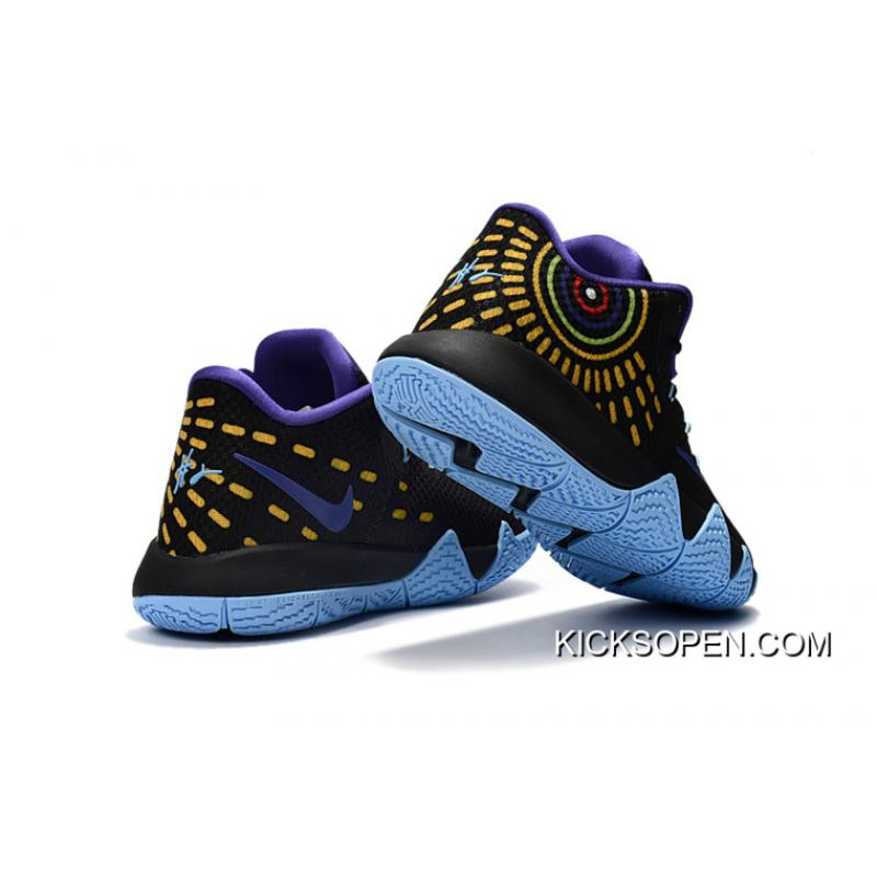 ac76500b26de90 ... authentic nike kyrie 4 black purple jade super deals 86625 1c421