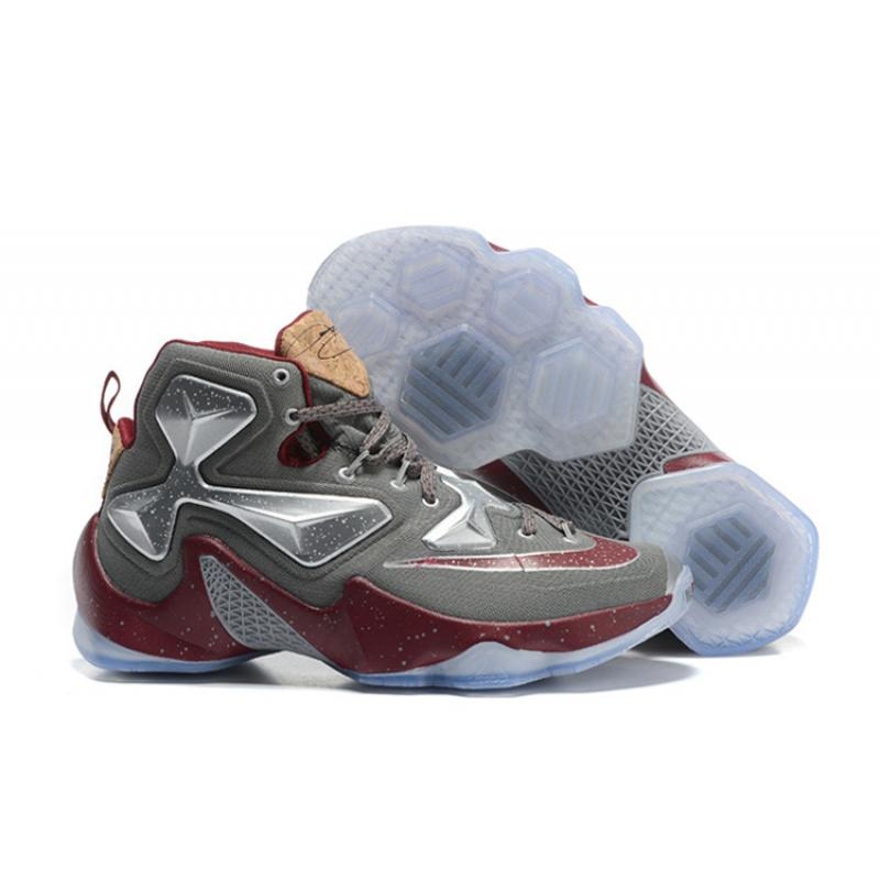 1b0edcc8a76 ... discount code for online nike lebron 13 opening night fine wine wolf  grey basketball shoes d8349