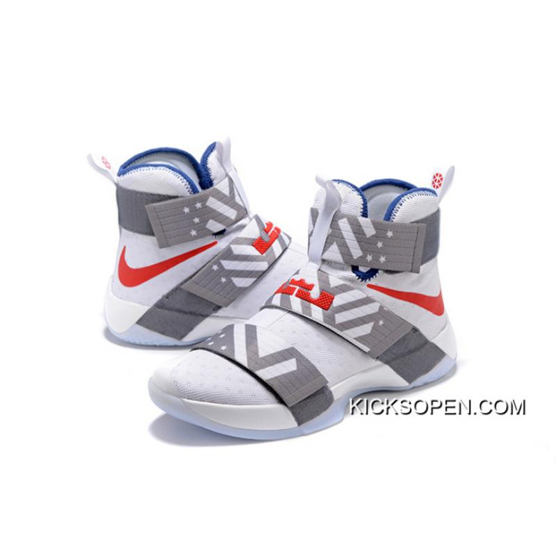 reputable site 4d5cc 24d56 Men LeBron Soldier X Nike Basketball Shoes SKU:44724-485 Outlet
