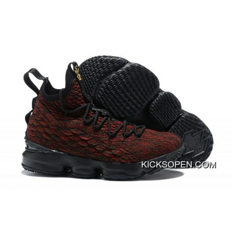 9657d436ad2 Nike LeBron 15  BHM  Black Multi-Color AA3857-900 Online ...