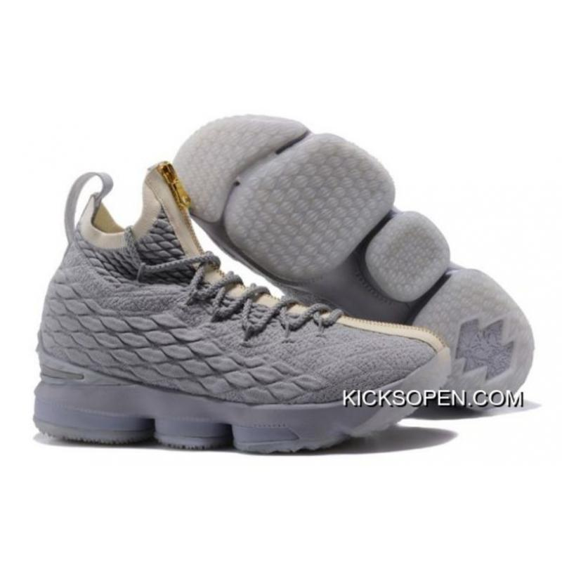 best website 7e9af 8465c ... low cost nike lebron 15 cool grey metallic gold new release 64d7e 11c29  ...