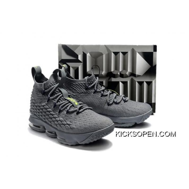 "huge discount 2b87d 547cd Nike LeBron 15 ""Wolf Grey"" New Style ..."