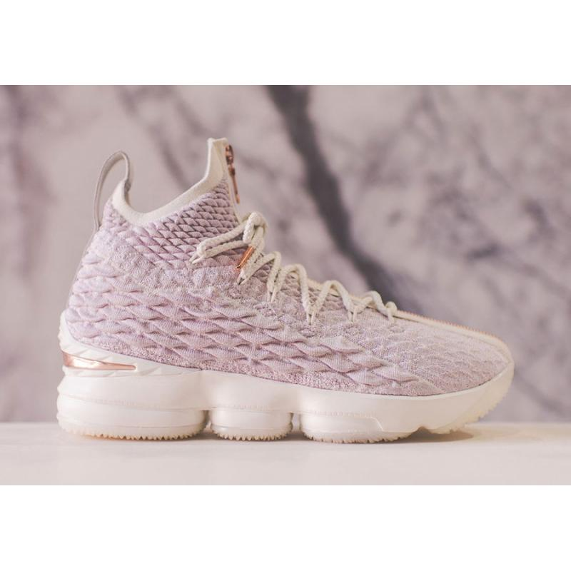"300eac5d789c For Sale KITH X Nike LeBron 15 ""Rose Gold"" ..."