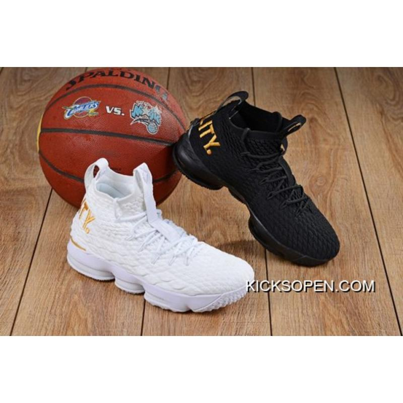 70489493246f Nike LeBron 15  Equality  PE Pack White And Black Best ...