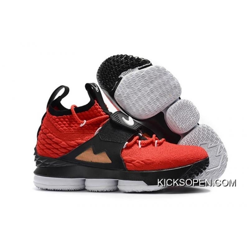 cheap for discount 0dc49 9fefe Top Deals Alternate Diamond Turf Nike LeBron 15 In Red ...