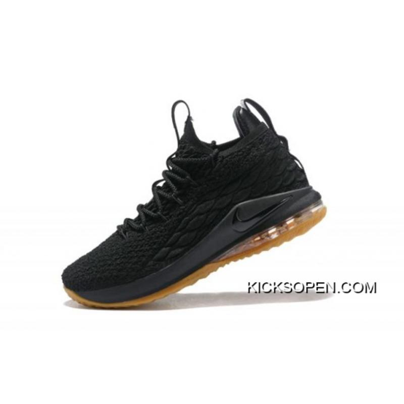 596981c480e6 ... amazon nike lebron 15 low black gum mens basketball shoes top deals  938cd 710ce