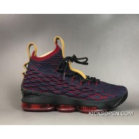 "ca33f3a26f1e Free Shipping Nike LeBron 15 ""New Heights"" Dark Atomic Teal Ale Brown-"