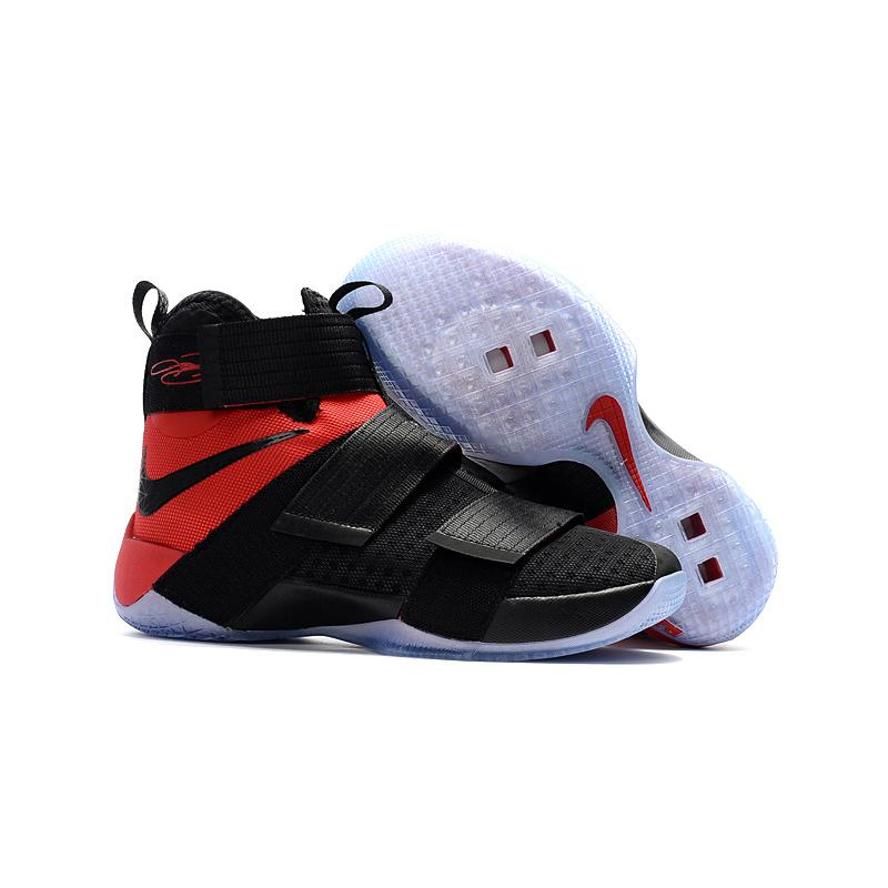 """the latest 15e8a d4977 Nike LeBron Zoom Soldier 10 """"Team Red"""" Outlet ..."""