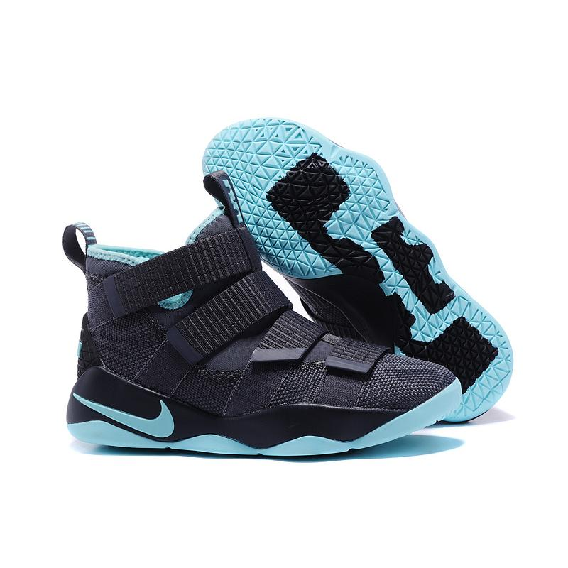 "aec94da2c0aa New Year Deals Nike LeBron Soldier 11 ""Igloo"" Cool Grey Igloo ..."