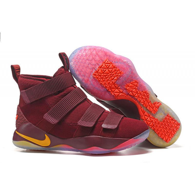 "Nike LeBron Soldier 11 ""Cavs"" PE Best ... fa2bc88a95"