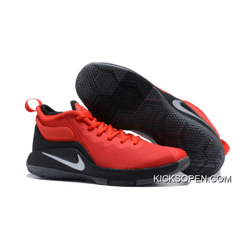 872a75ff749 Big Deals Nike LeBron Zoom Witness 2 Red Black Basketball Shoes ...