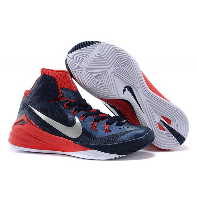 """the best attitude df235 09a20 New Year Deals Nike Hyperdunk 2014 """"USA Away"""" Obsidian White-University Red  ..."""