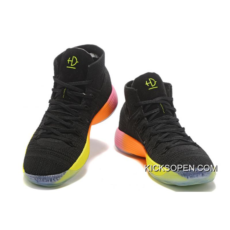 """Nike React Hyperdunk 2017 """"Unlimited"""" Black Colorful For ..."""