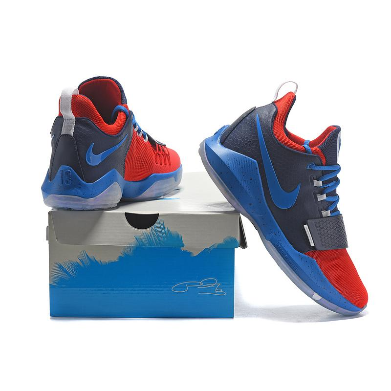 c06c982a505 ... Nike Zoom PG 1 Navy Blue Red Copuon