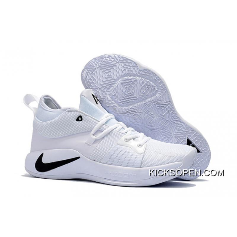 36d7e9dbe3cc For Sale Nike PG 2 White Black ...